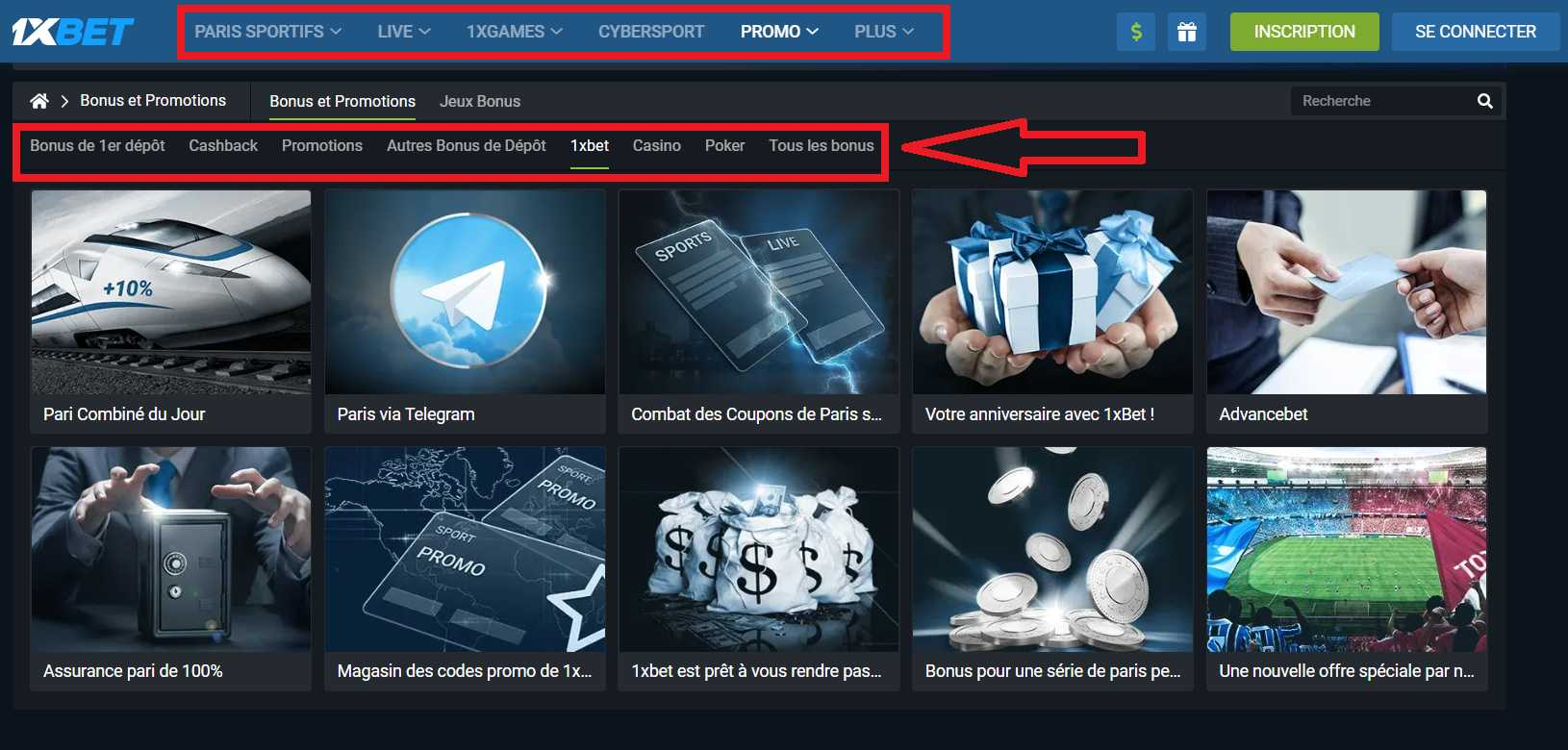 How to get a welcome bonus from 1XBET?